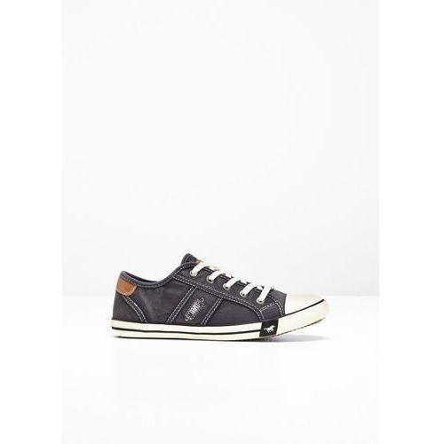 Bonprix Sneakersy mustang antracytowy