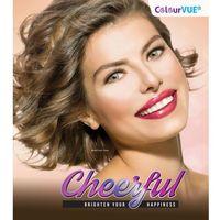 Colourvue cheerful kolorowe soczewki kontaktowe. marki Maxvue vision