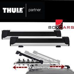 Uchwyty narciarskie do samochodu  THULE BOXCARS