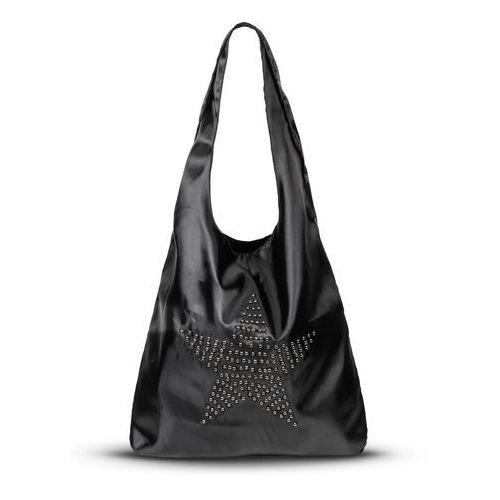 f45650861377f Torebka shopper z ćwiekami czarno-srebrny kolor (bonprix) - sklep ...