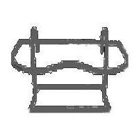 Uchwyt metalowy Avanti C18/2 do doniczek ogrodowych Clematis 18