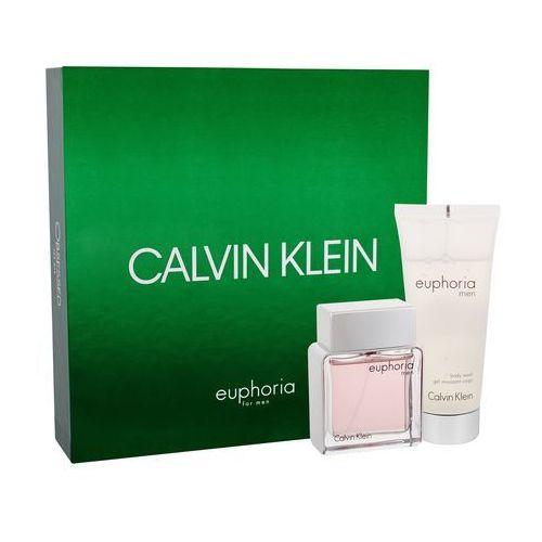 Calvin Klein Euphoria Men zestaw 50 ml Edt 50ml + 100ml Żel pod prysznic dla mężczyzn (3607342795136)
