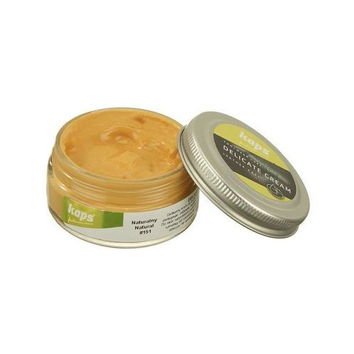 pasta 04_5013_151 delicate cream 50 ml naturalny, pasta do obuwia - naturalny marki Kaps