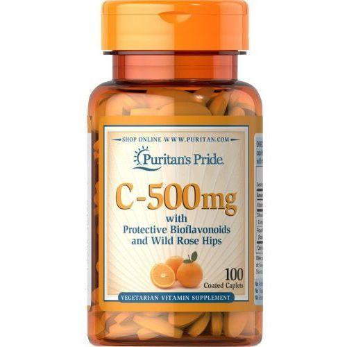 Tabletki Witamina C-500 mg 100 tabl PURITAN'S PRIDE