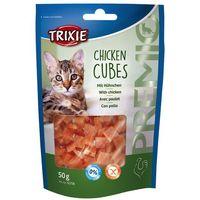 snacki premio cubes kurczak 50 g- rób zakupy i zbieraj punkty payback - darmowa wysyłka od 99 zł marki Trixie