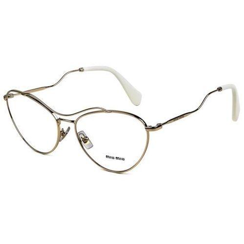 Okulary korekcyjne mu53pv zvn1o1 marki Miu miu