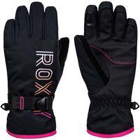 rękawice ROXY - Freshfield Girl Gloves True Black (KVJ0) rozmiar: S