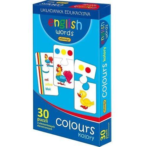 Gra English words - Colours +DARMOWA DOSTAWA przy płatności KUP Z TWISTO, 61686602992GR (635823)