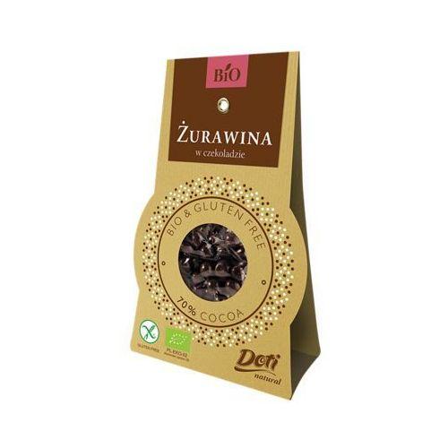Żurawina w czekoladzie deserowej BIO 60g. - DOTI