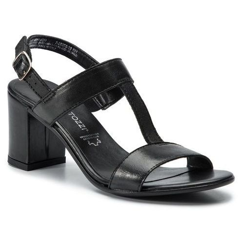 Sandały MARCO TOZZI - 2-28356-22 Black 001, kolor czarny