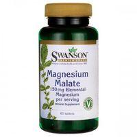 Swanson Jabłczan magnezu 150mg - (60 kap) (0087614117089)