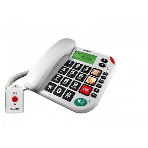 Maxcom Kxt 481 sos telefon przewodowy + pilot sos (5908235972756)