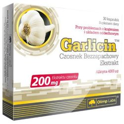 Olimp Garlicin kaps. 0,2 g 30 kaps.