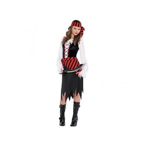 Kostium piękna piratka dla dziewczynki - 8/10 lat (134) marki Amscan