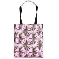 torba MI-PAC - Shopper North South Palm Trees-Pink (S02) rozmiar: OS