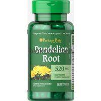 Kapsułki Dandelion Root Puritan's Pride 100 kaps., 520 mg