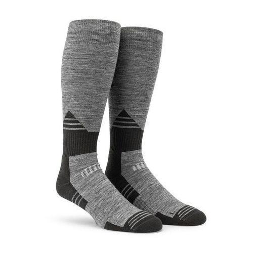 Volcom Skarpetki - kootney sock charcoal heather (chh) rozmiar: l/xl