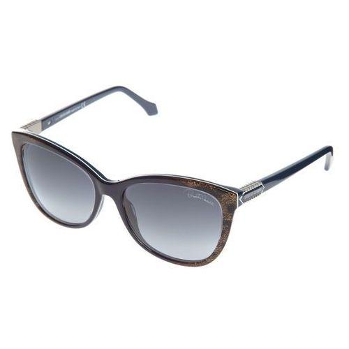 Roberto Cavalli Jabbah Okulary przeciwsłoneczne Niebieski Brązowy UNI, kolor brązowy