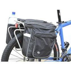 15-000016 sakwy na bagażnik cargo 20l czarne z pokrowcem marki Author