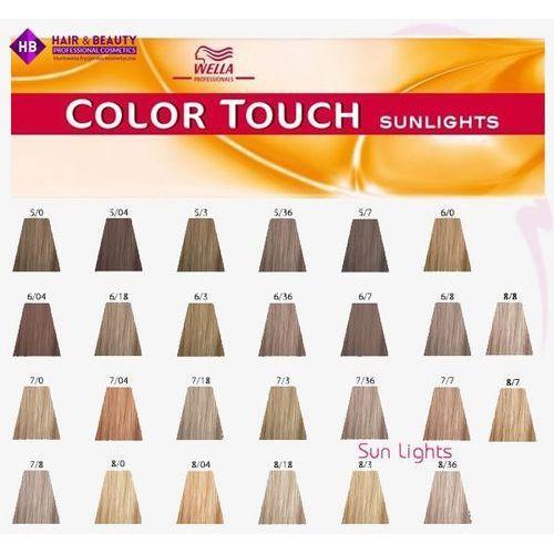 WELLA Color Touch Sunlights Łagodny Krem Tonujacy- /36 Złoto Fioletowy 60ml