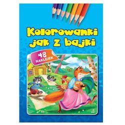 Praca zbiorowa Kolorowanki jak z bajki - md monika duda