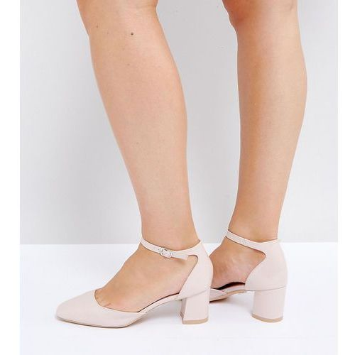 841c5b66dddc mid heeled blush patent heeled shoes - pink marki Lost ink wide fit - foto