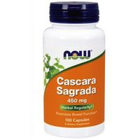 Now Foods Cascara Sagrada 450mg 100 kaps.