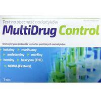 Test na obecność narkotyków, MultiDrug Control, 1 sztuka DARMOWA DOSTAWA od 39,99zł do 2kg! (5902666651617)