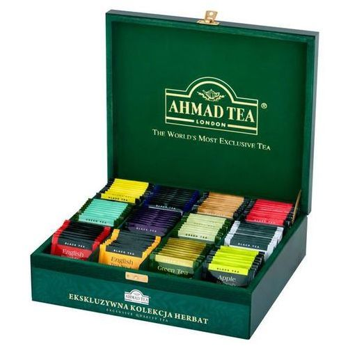 Herbata eksp. AHMAD TEA mix skrzynka op.120 kopert