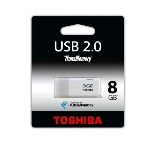 Toshiba 8GB U202 USB 2.0 WHITE DARMOWA DOSTAWA DO 400 SALONÓW !!