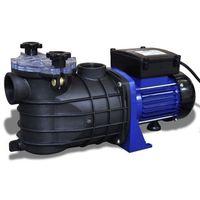 vidaXL Elektryczna pompa do basenu 500W Niebieska (8718475861256)