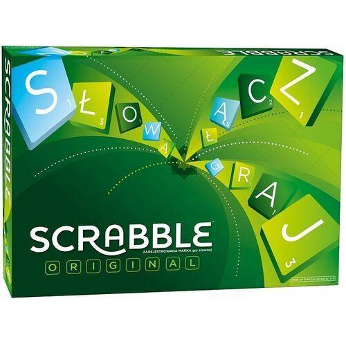 Scrabble oryginalne klasyczne wersja pl marki Mattel