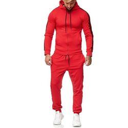 dres mĘski - czerwony 52003-2, kolor czerwony