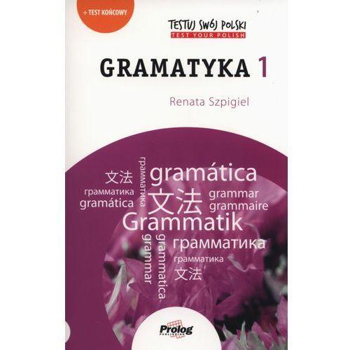 TESTUJ SWÓJ POLSKI Gramatyka 1 w.2015 (128 str.)
