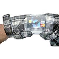 Etui opaska na rękę identyfikator skipass bezpieczeństwo - bez rzepu