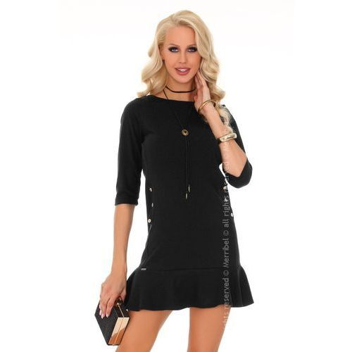 8f8f260f8482a8 Zobacz w sklepie Marima black 85234 sukienka mała czarna Merribel