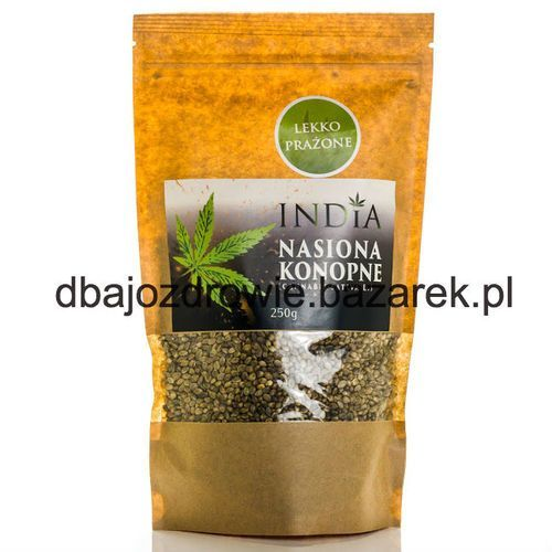 Nasiona konopne lekko prażone, india, 250g India cosmetics - Bardzo popularne