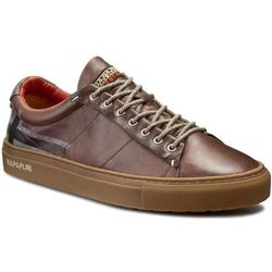 Sneakersy NAPAPIJRI - Bever 13831519 Dark Brown N46, kolor brązowy