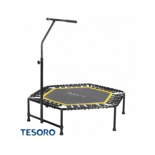 Tesoro Trampolina fitness hexagon 50 inch pomarańczowy (6052340240299)