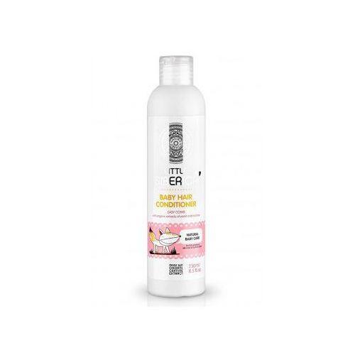 Odżywka do włosów dla dzieci ułatwiająca rozczesywanie z organicznym ekstraktem z fiołka i malwy