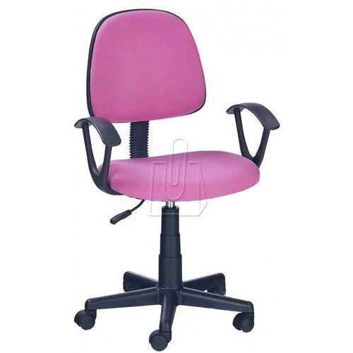 Fotel młodzieżowy darian bis różowy marki Halmar