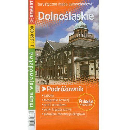 Dolnośląskie Podróżownik turystyczna mapa samochodowa (96 str.)