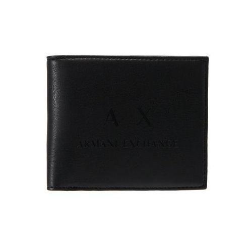 Armani Exchange WALLET Portfel black/black