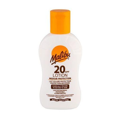 Malibu lotion spf20 preparat do opalania ciała 100 ml unisex - Genialny rabat