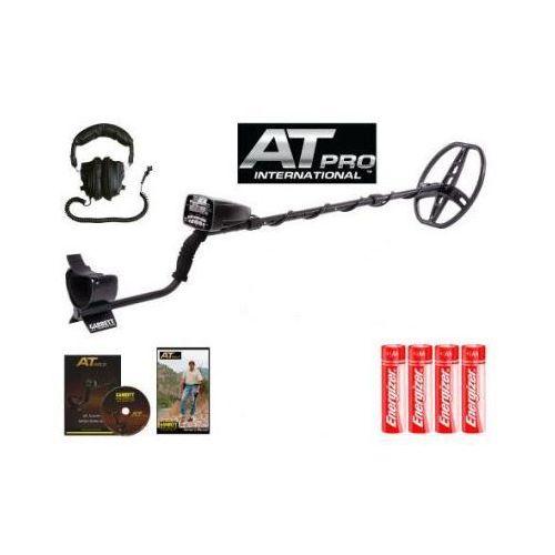Profesjonalny Wykrywacz Metali Garrett AT-PRO (USA) z Ekranem LCD + Wiele Funkcji + Słuchawki.