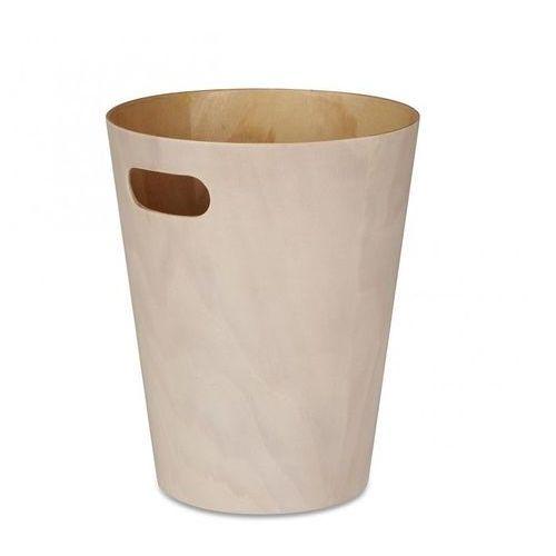 Masywnie Woodrow Kosz na śmieci drewniany naturalny (Umbra) recenzje SE46