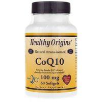 Healthy Origins Koenzym Q10 100 mg - 60 kapsułek