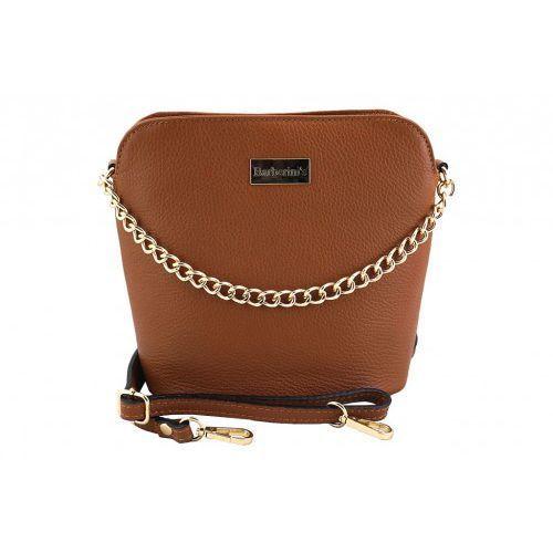 06d0c7cf19498 Barberini s - torebki listonoszki damskie skórzane - Brązowy jasny - foto  Barberini  39 s