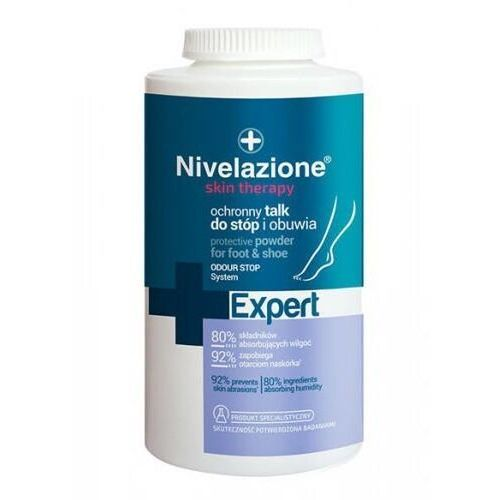 Ideepharm Nivelazione skin therapy ochronny talk do stóp i obuwia 110g - Bombowa przecena