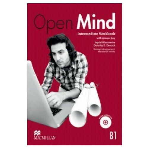 Open Mind (B1+) Intermediate. Ćwiczenia z Kluczem + CD (88 str.)